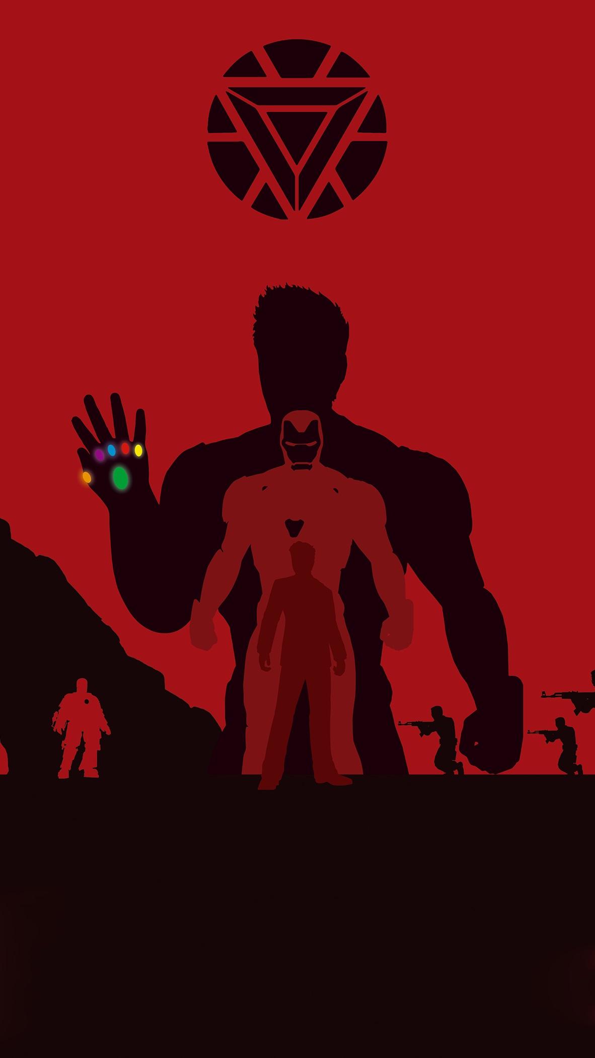 The Iron Man iPhone Wallpaper