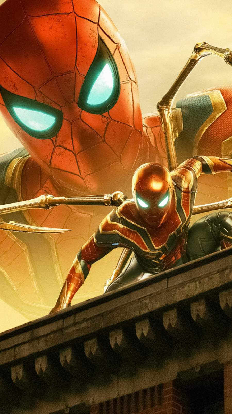 The Iron Spider iPhone Wallpaper