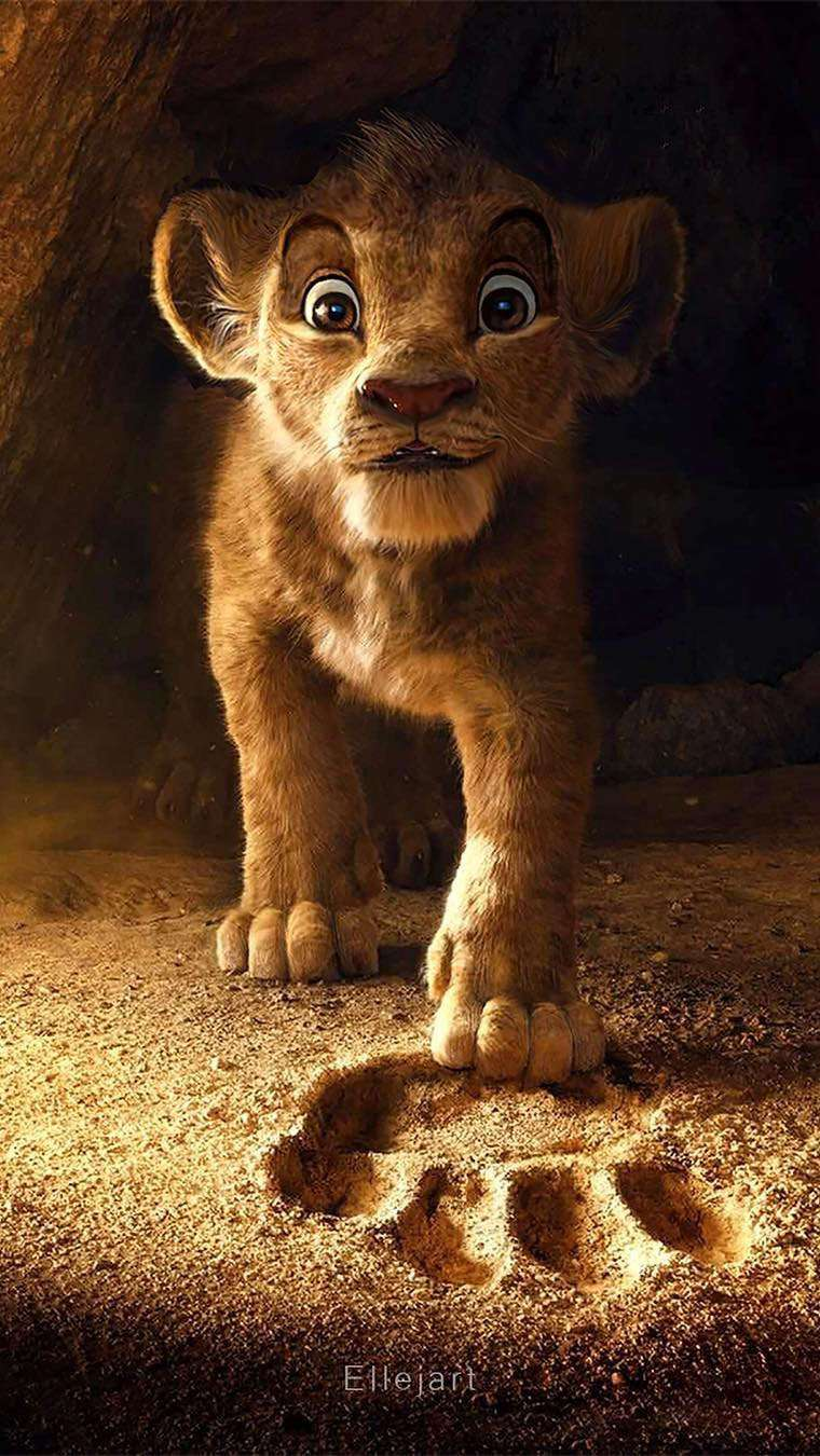 The Lion King Simba iPhone Wallpaper