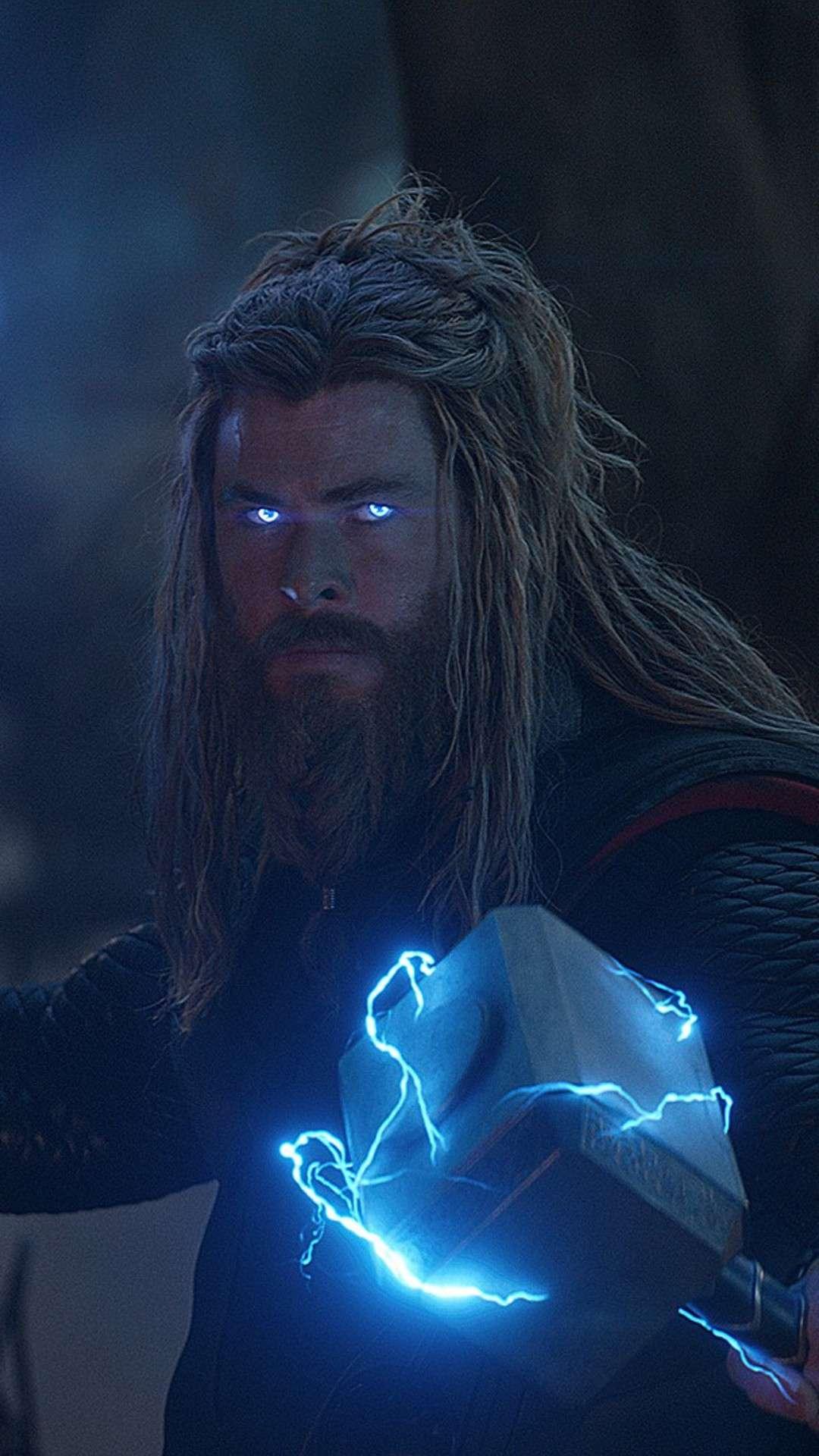 Thor Avengers Endgame Final Battle iPhone Wallpaper