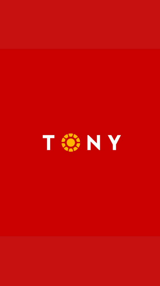 Tony Stark Simple iPhone Wallpaper