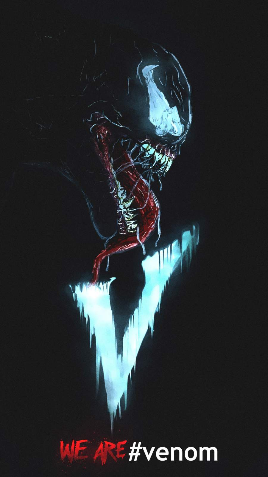 We Are Venom iPhone Wallpaper