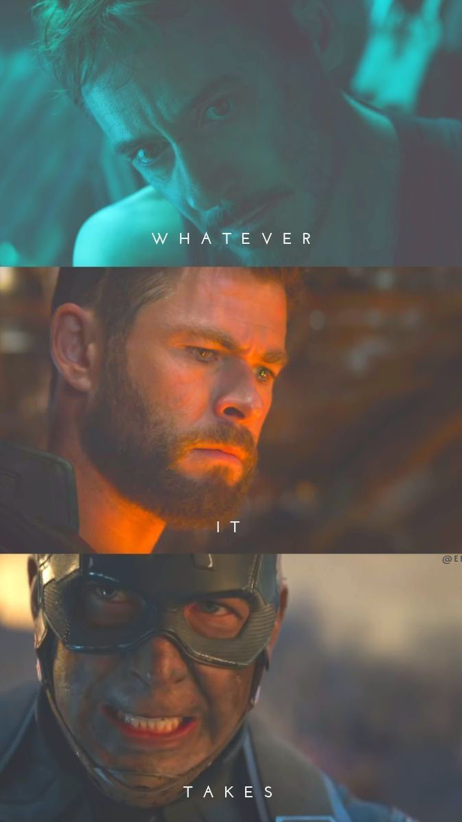 Whatever it Takes Avengers iPhone Wallpaper