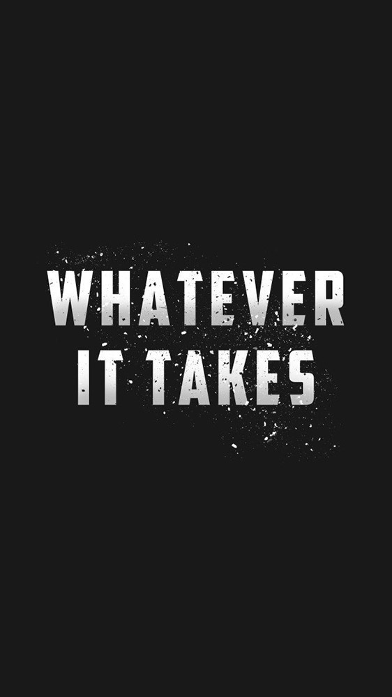 Whatever it Takes iPhone Wallpaper