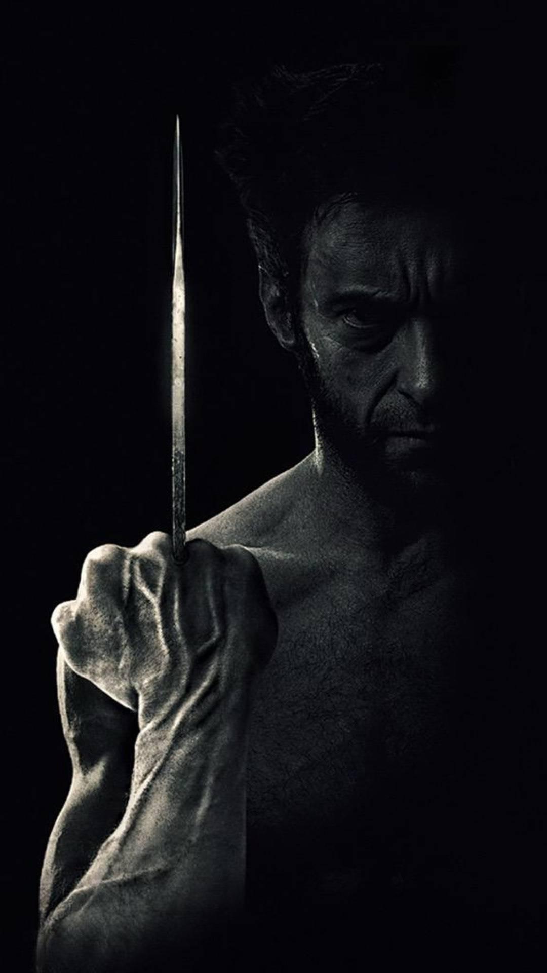 Wolverine Dark iPhone Wallpaper