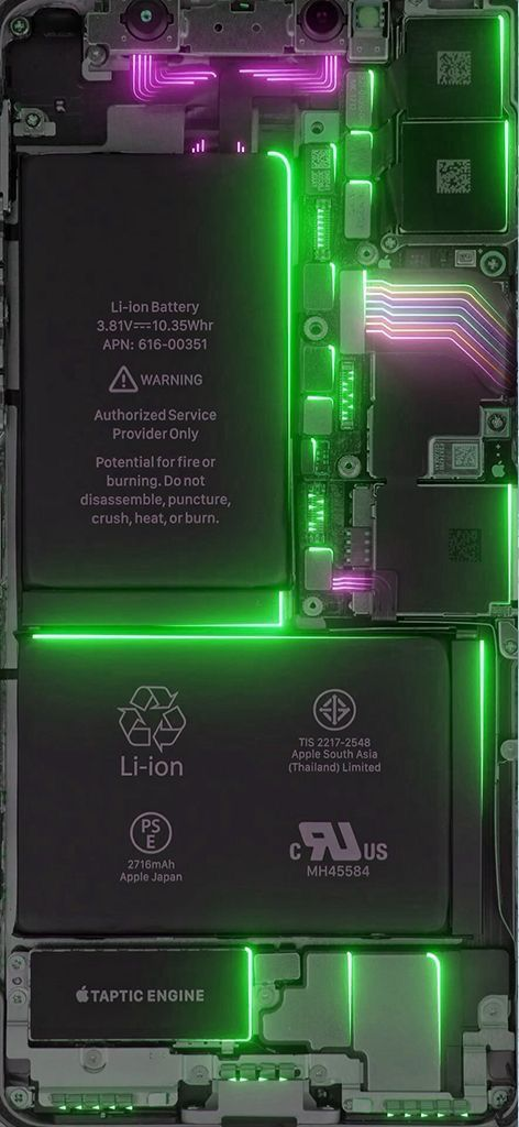 iPhone Motherboard Wallpaper
