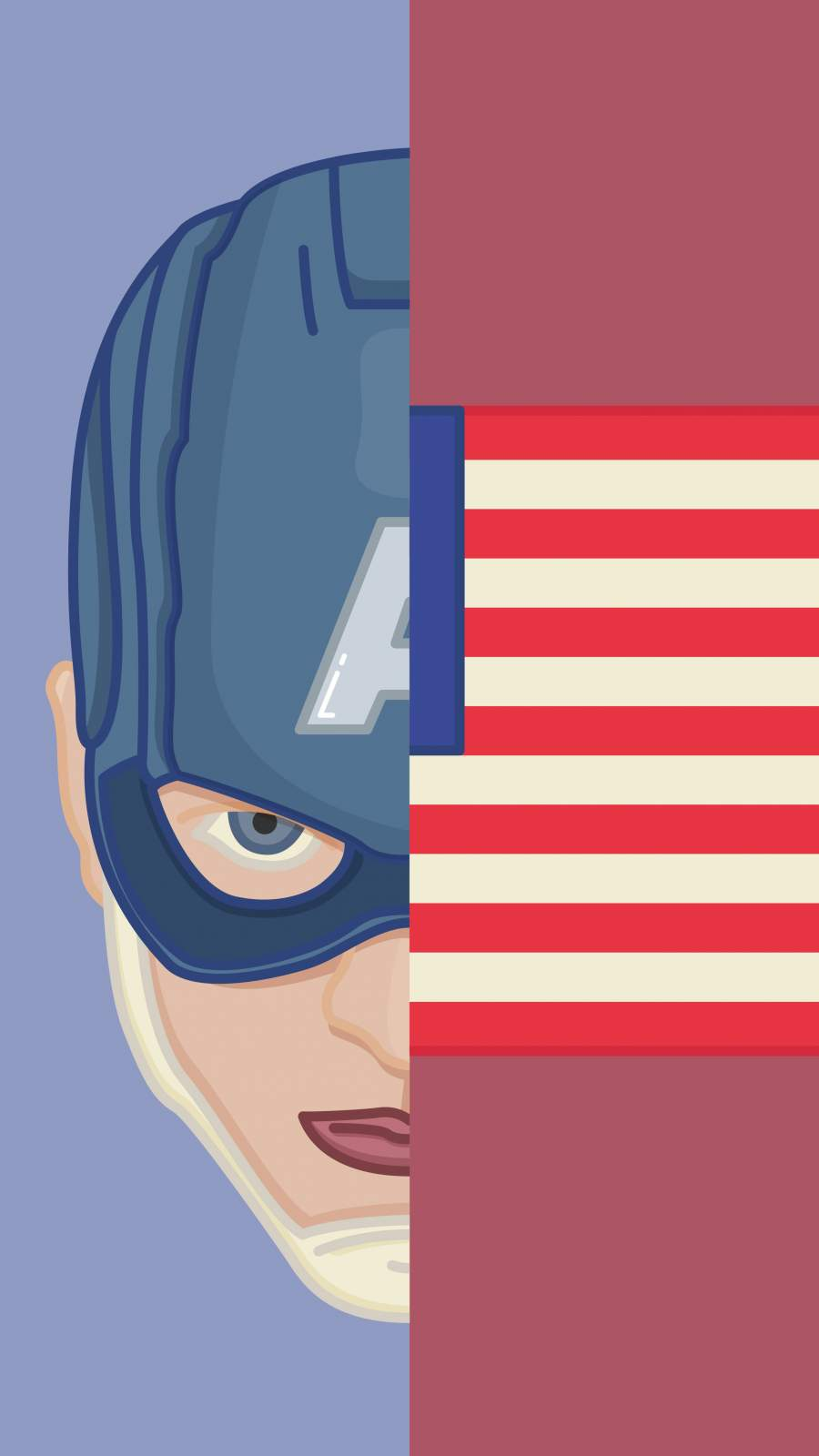 American Hero iPhone Wallpaper