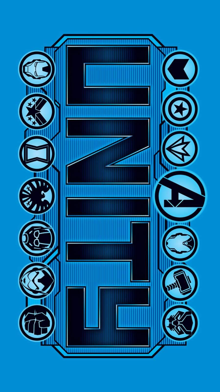 Avengers Unity iPhone Wallpaper