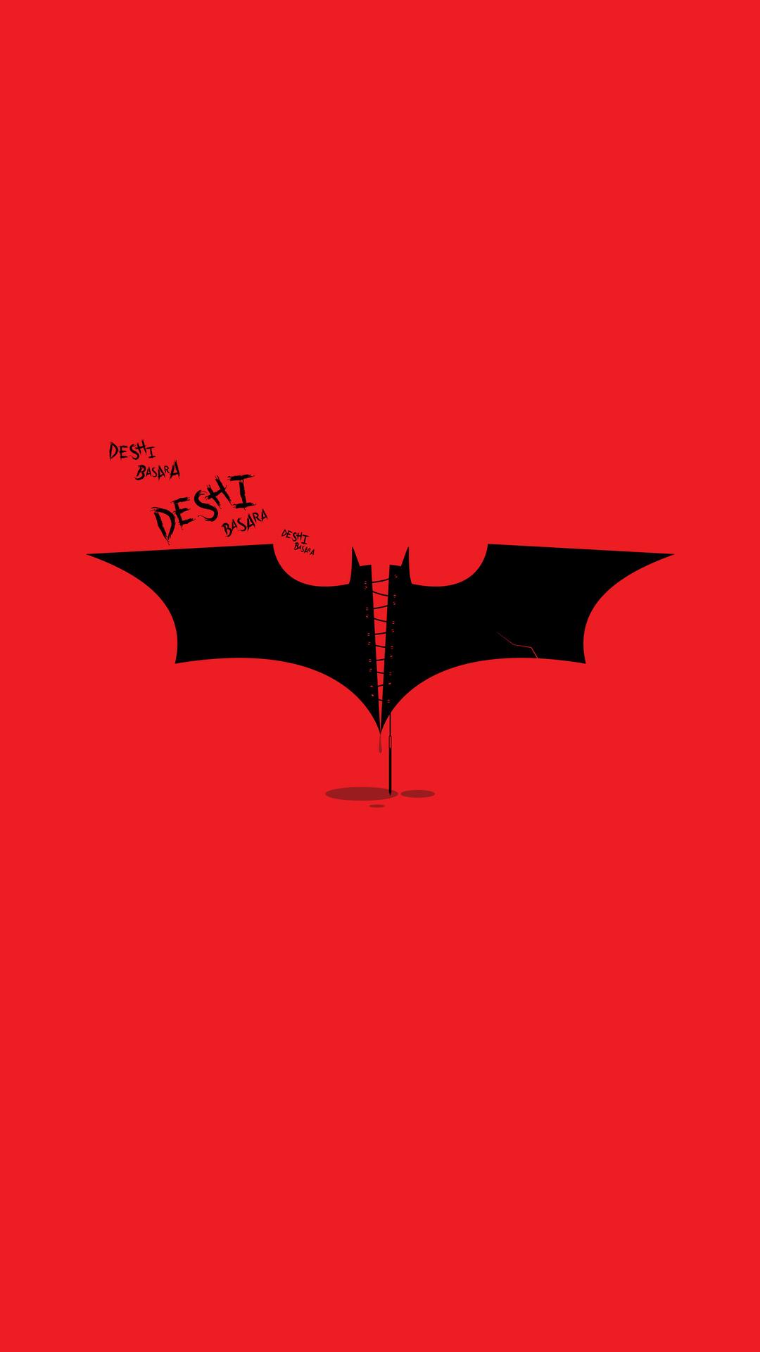 Batman Deshi Basara The Dark Knight Rises iPhone Wallpaper