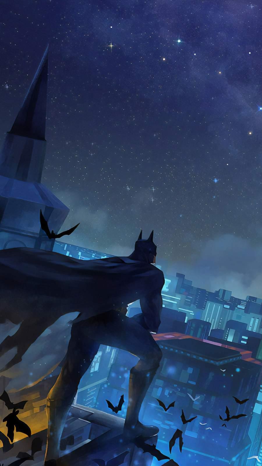 Batman The Night King iPhone Wallpaper
