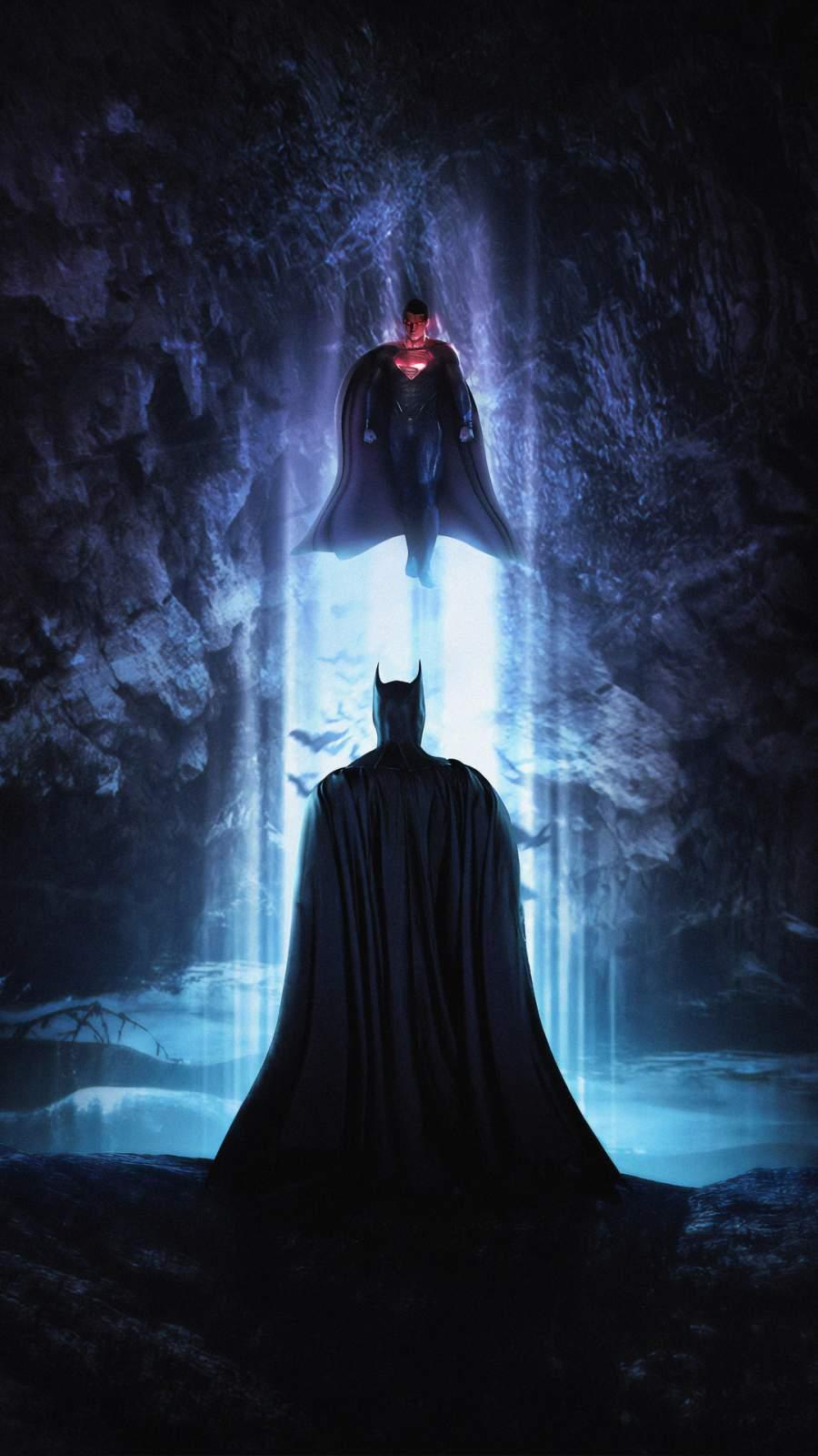 Batman and Superman iPhone Wallpaper