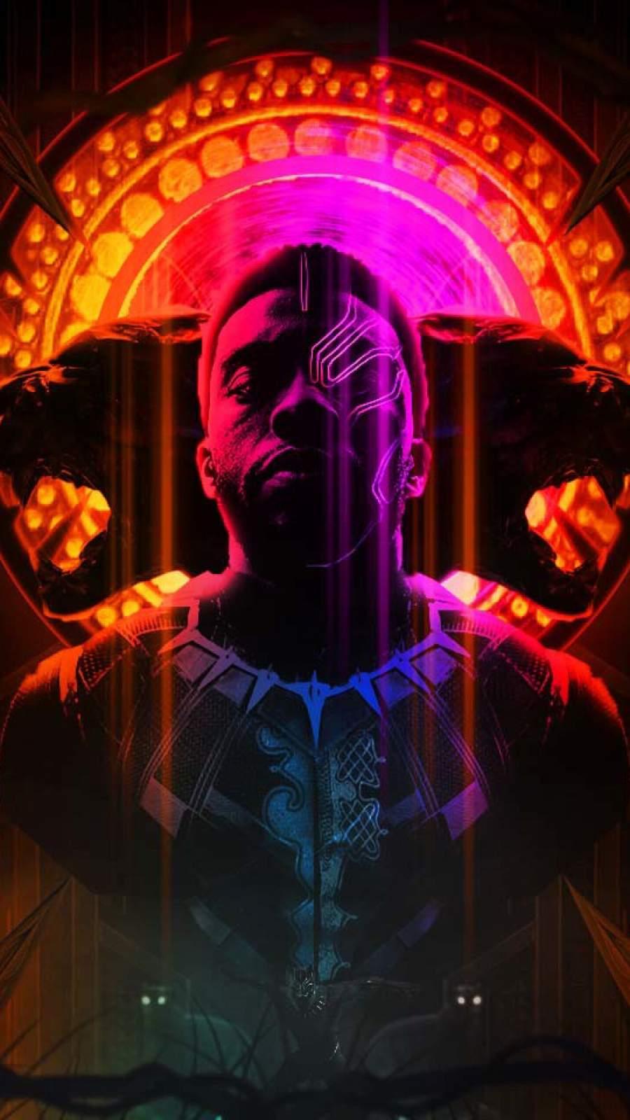 Black Panther King Remix iPhone Wallpaper