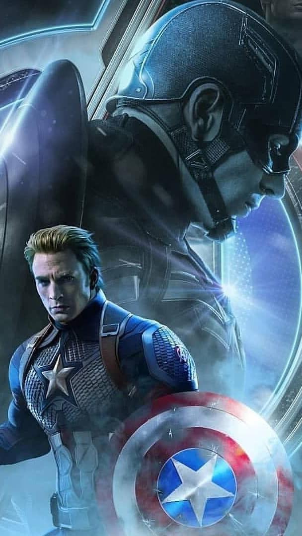 Captain America The Endgame iPhone Wallpaper