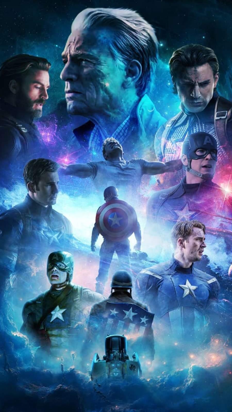 Captain America True Soldier iPhone Wallpaper
