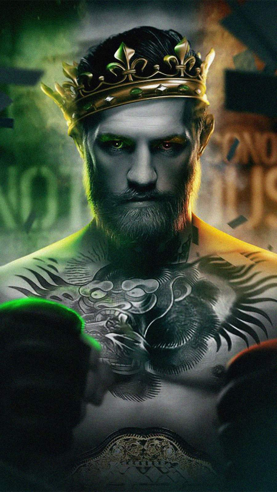 Conor McGregor iPhone Wallpaper