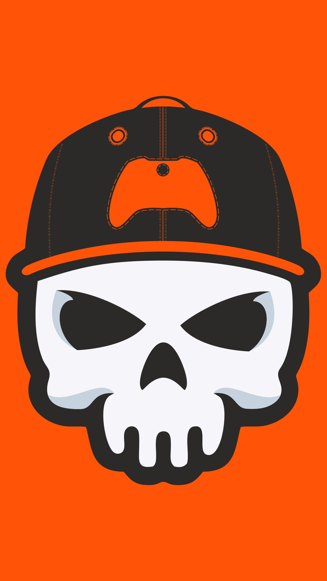 Gamer Skull iPhone Wallpaper