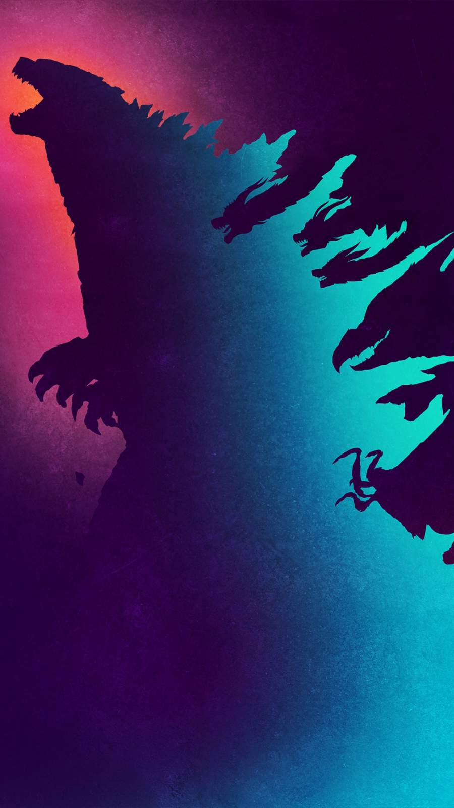 Godzilla Art iPhone Wallpaper