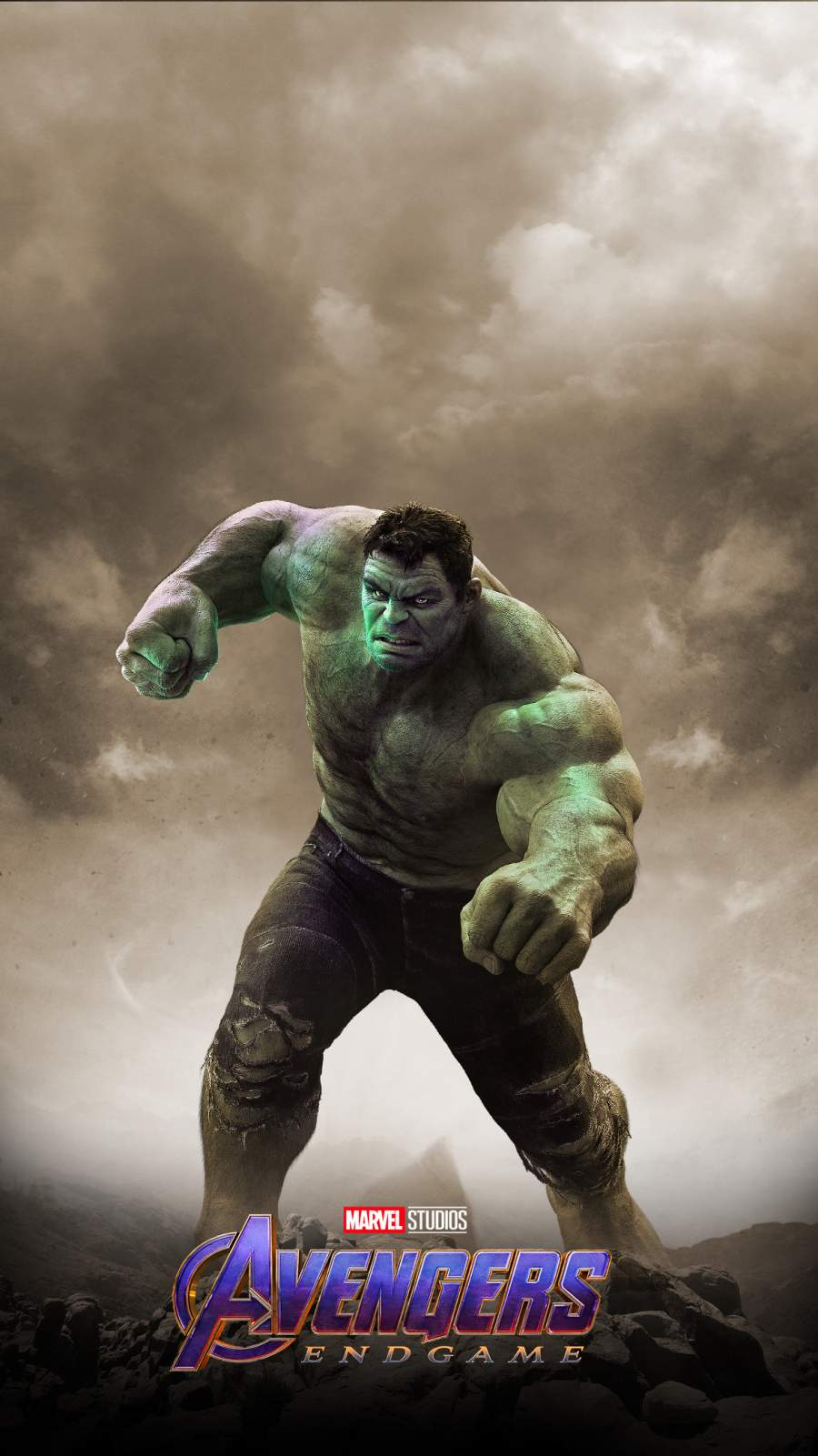 Hulk Endgame iPhone Wallpaper