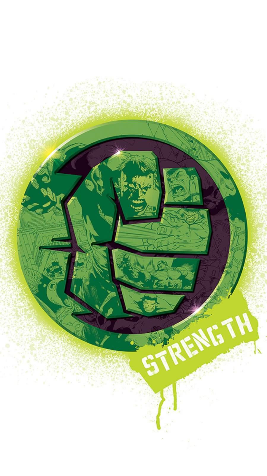Hulk Strength iPhone Wallpaper
