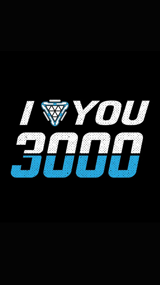 I Love You 3000 iPhone Wallpaper 1