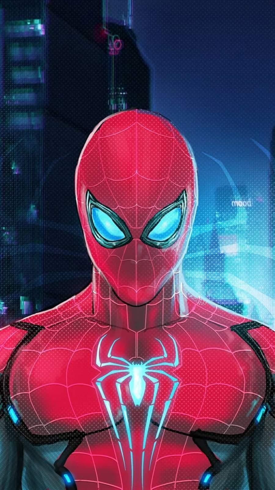 I am Spiderman iPhone Wallpaper