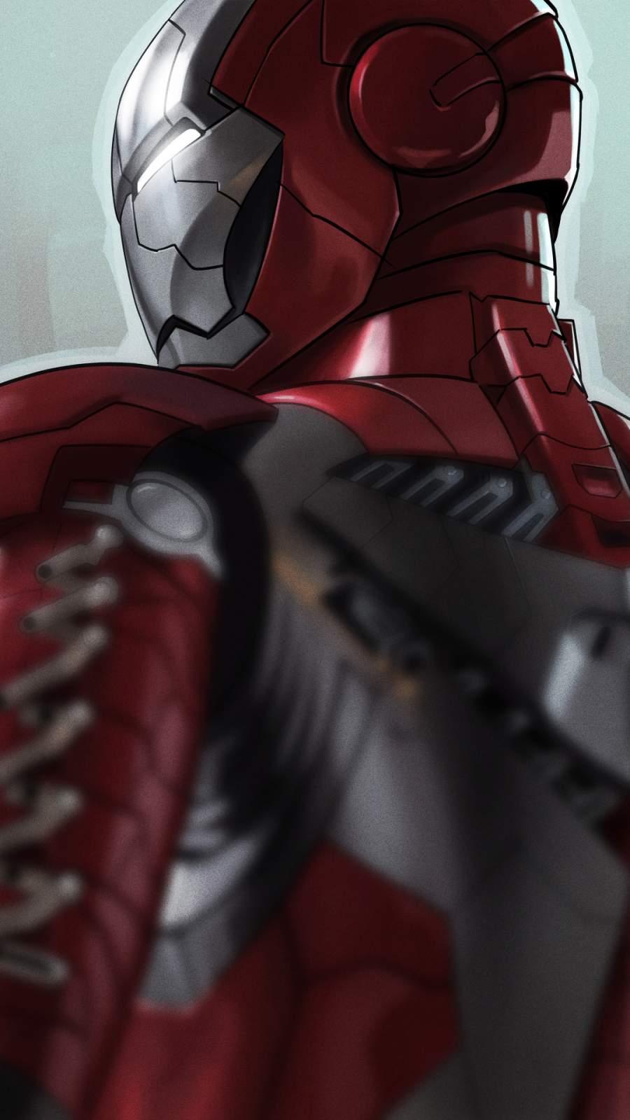 Iron Man Armor iPhone Wallpaper