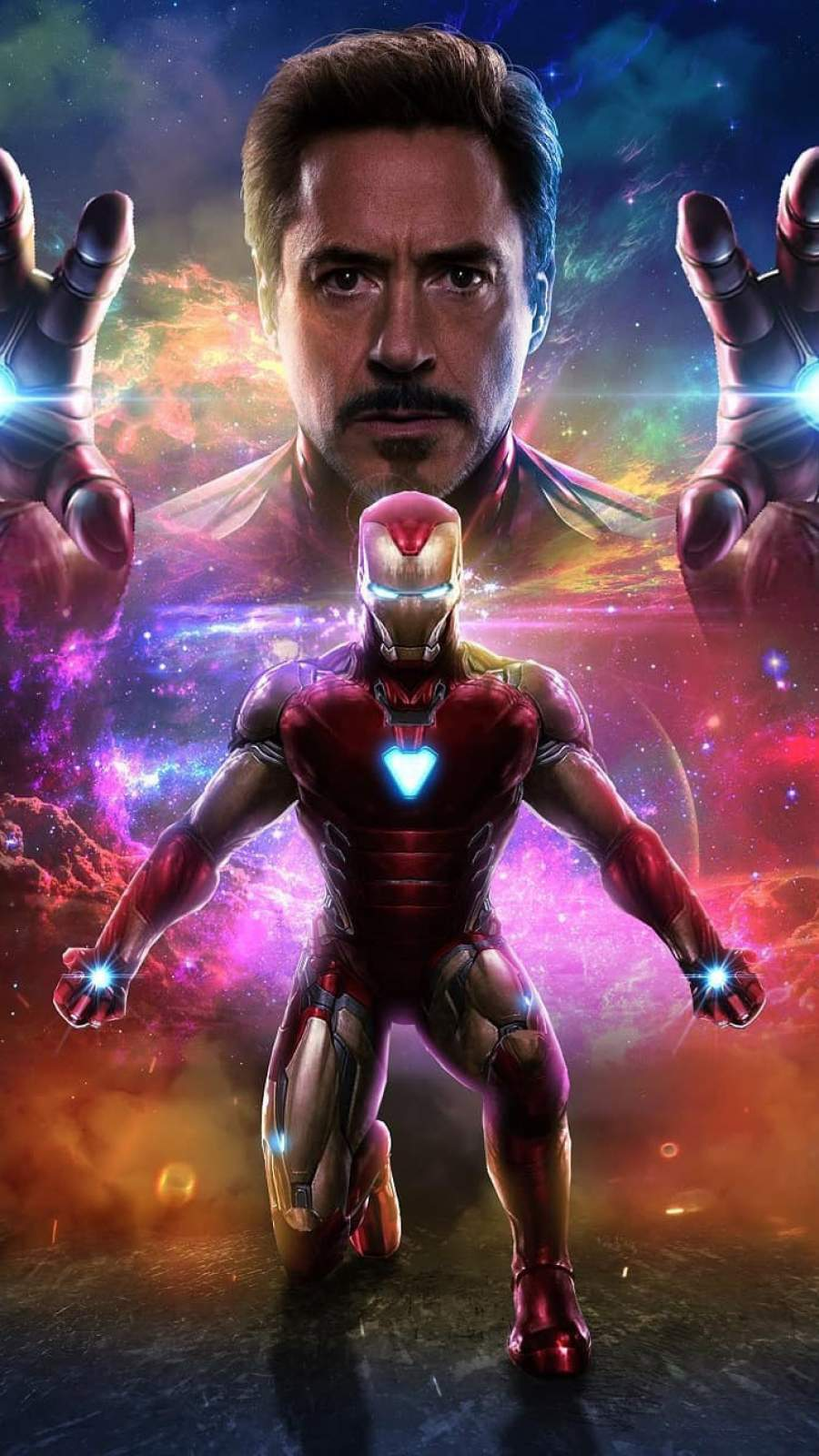 Iron Man Art iPhone Wallpaper 1