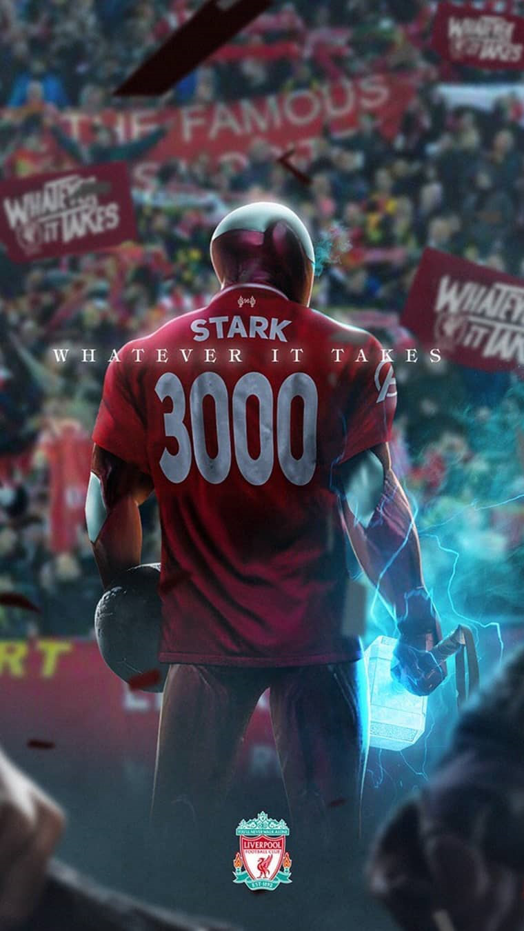 Iron Man Football iPhone Wallpaper