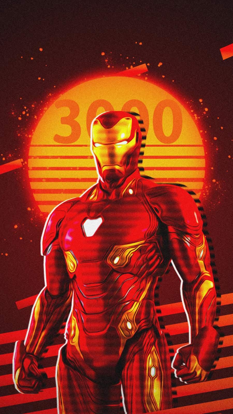 Iron Man Love You 3000 iPhone Wallpaper