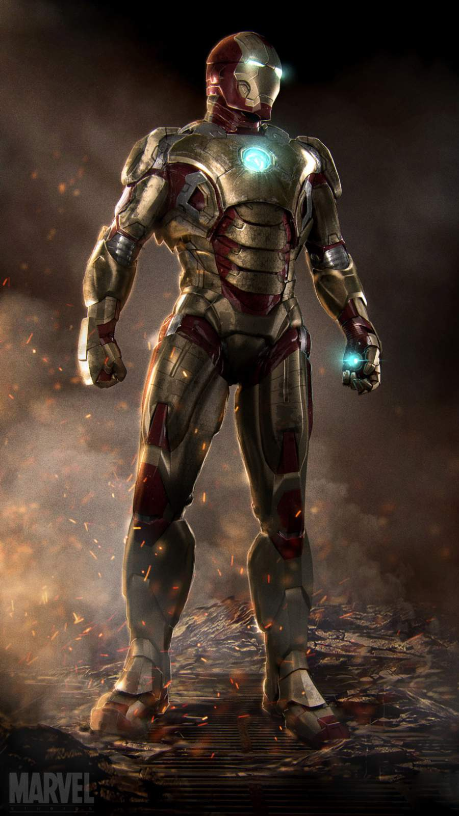 Iron Man MK42gg iPhone Wallpaper