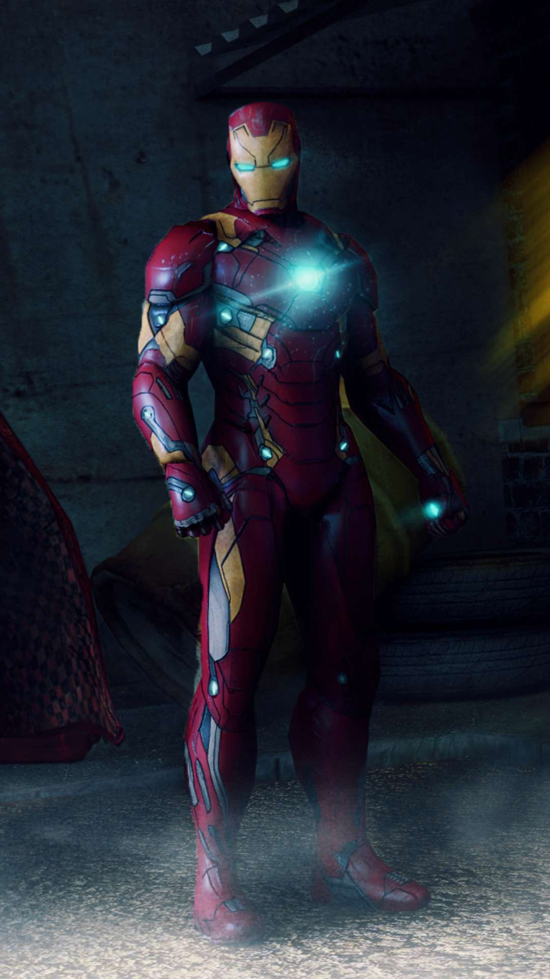 Iron Man Mark 46 iPhone Wallpaper