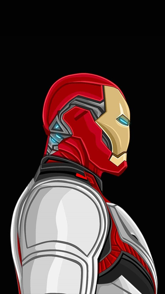 Iron Man Mark 85 Quantum Realm iPhone Wallpaper
