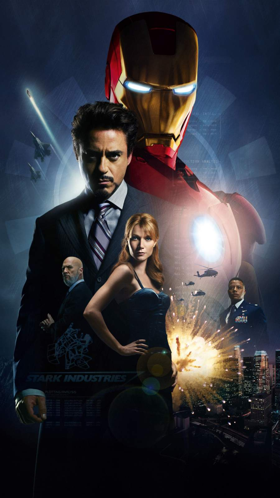 Iron Man Movie iPhone Wallpaper