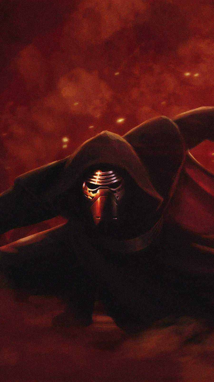 Kylo Ren Star Wars iPhone Wallpaper