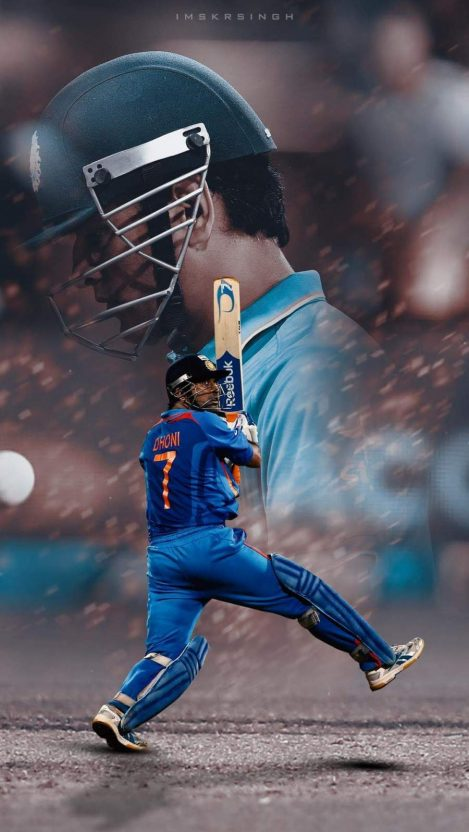 MS Dhoni iPhone Wallpaper