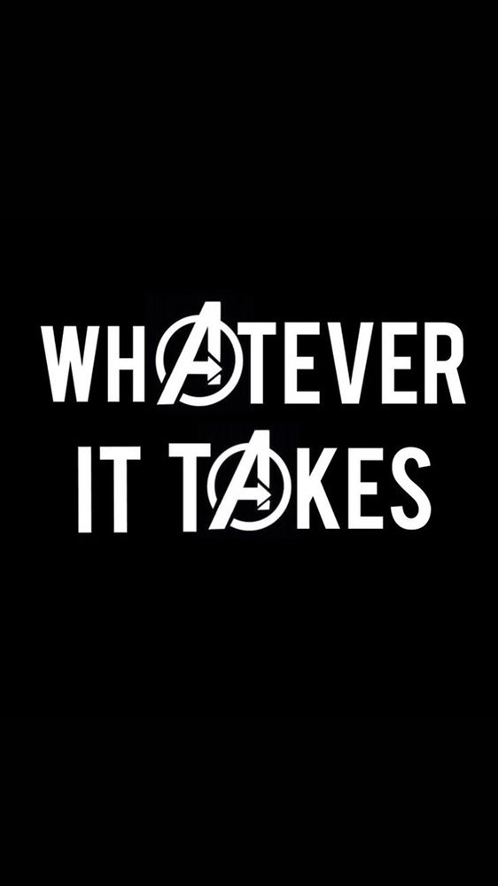 Marvel Whatever it Takes iPhone Wallpaper