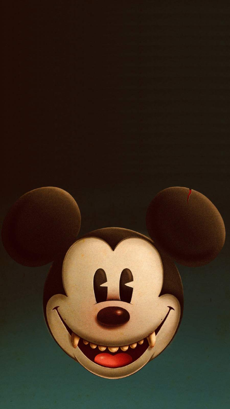 Mickey Mouse Halloween iPhone Wallpaper