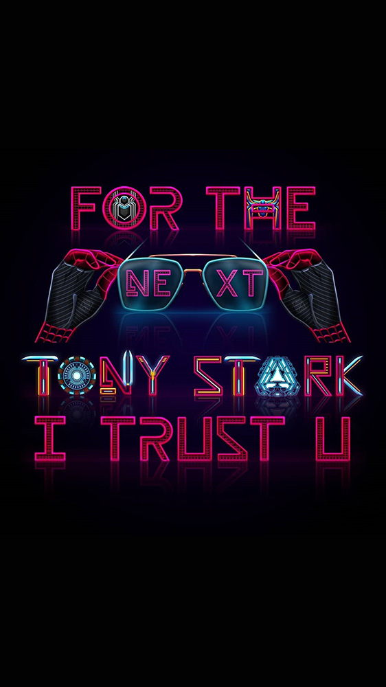Next Tony Stark iPhone Wallpaper
