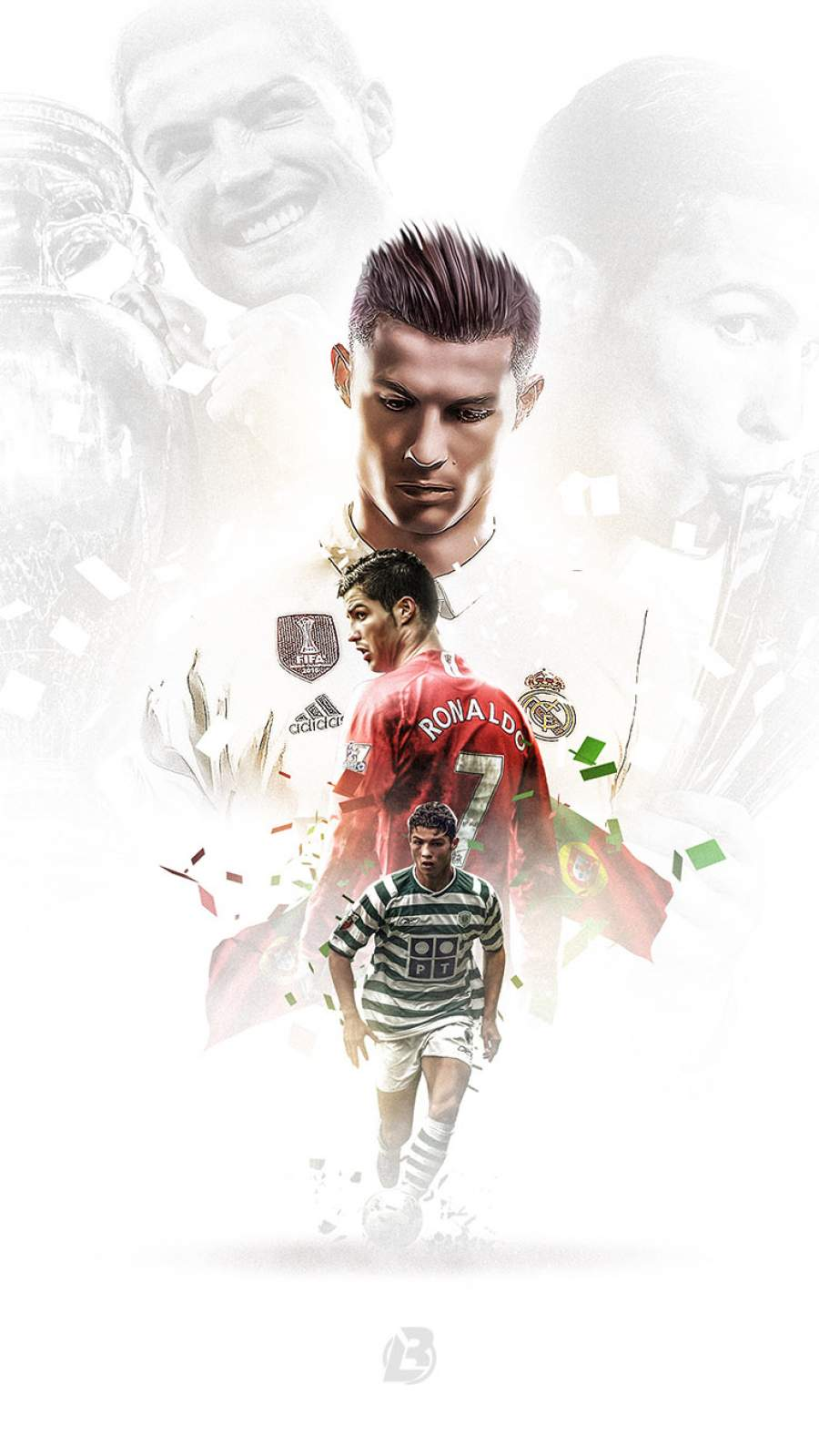 Ronaldo Best Footballer iPhone Wallpaper