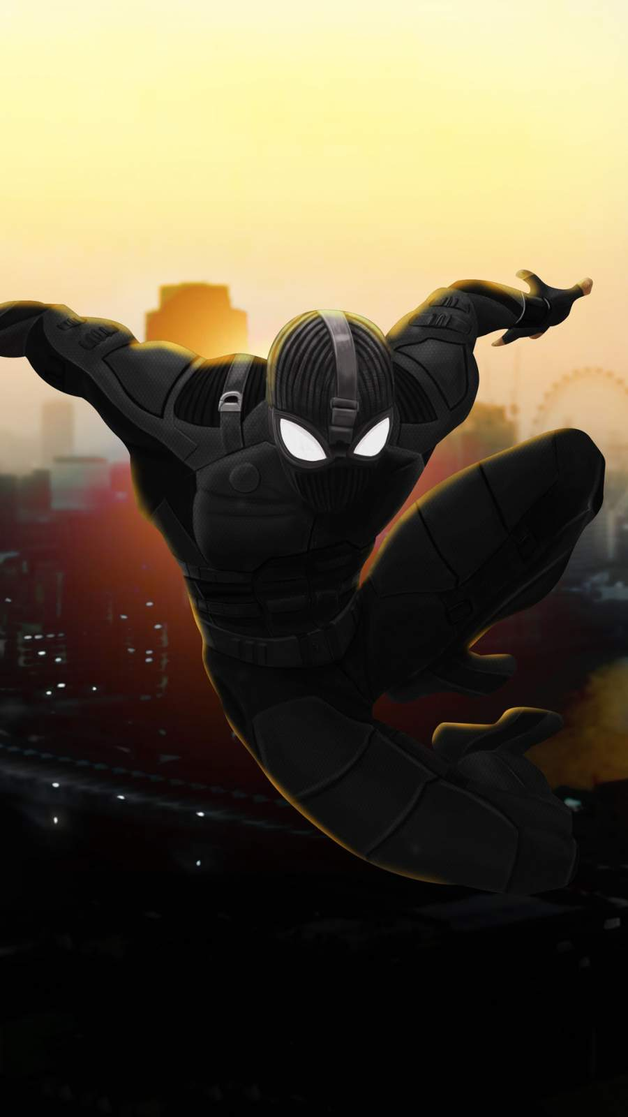 Spiderman Night Monkey iPhone Wallpaper