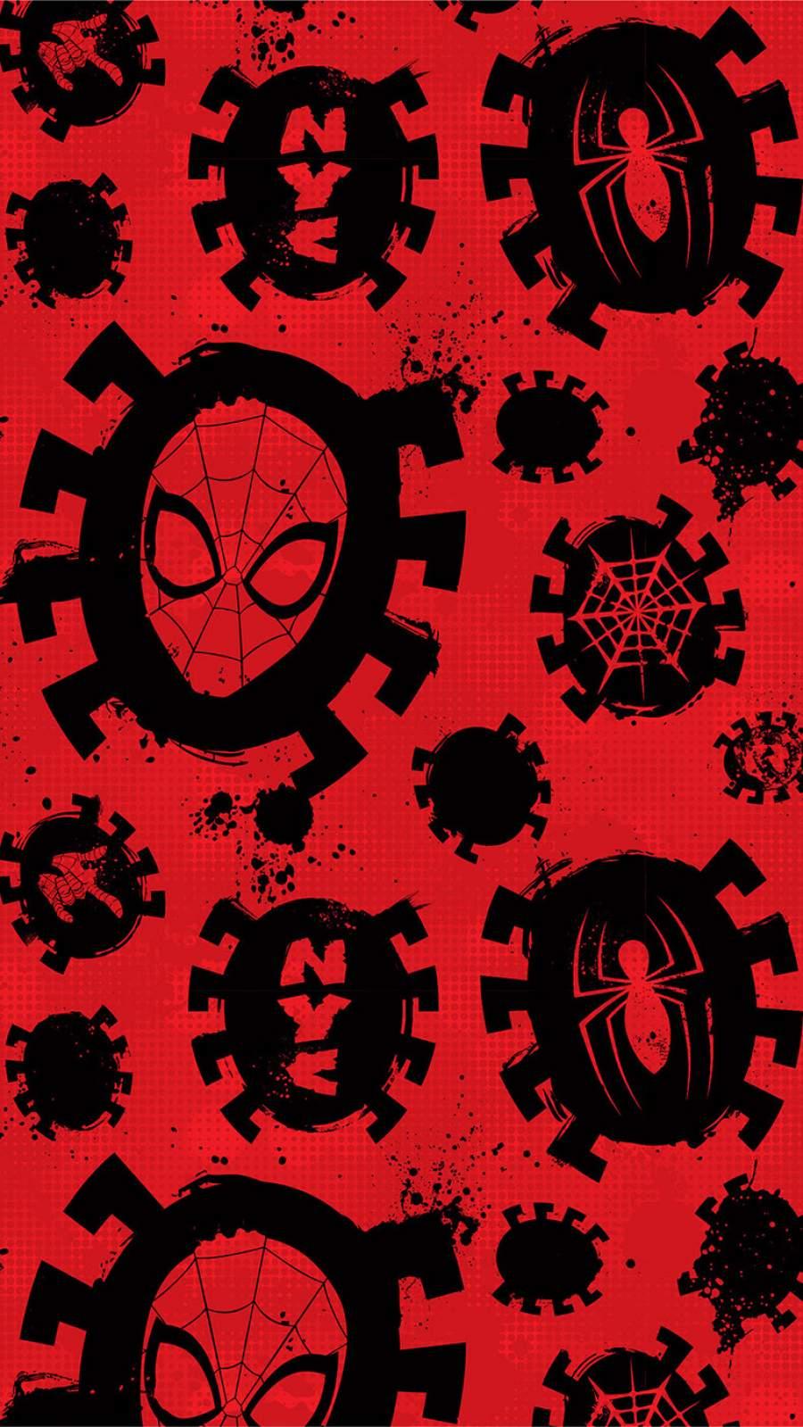 Spidey Art iPhone Wallpaper