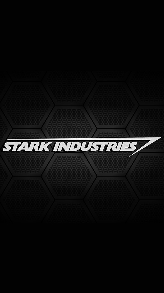Stark Industries Black iPhone Wallpaper