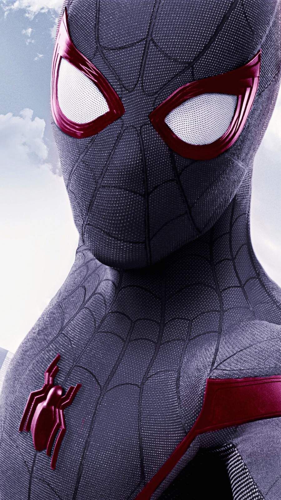 Stealth Spiderman iPhone Wallpaper