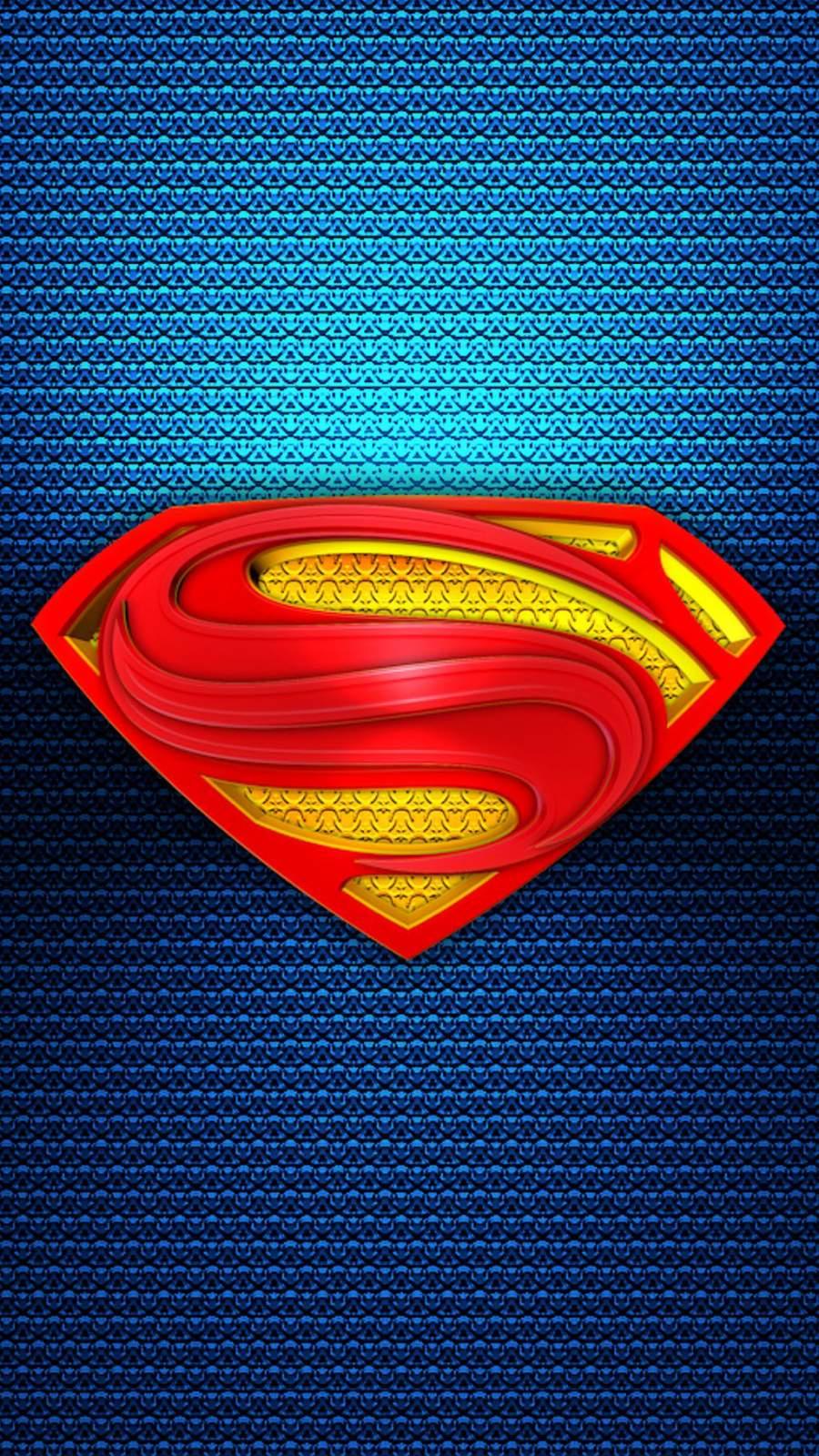 Superman 3D iPhone Wallpaper