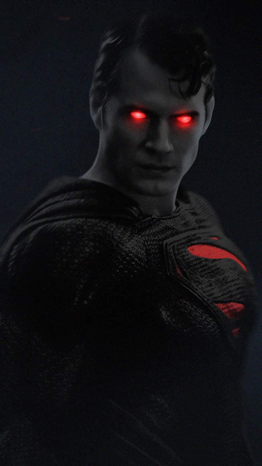 Superman Black Suit iPhone Wallpaper