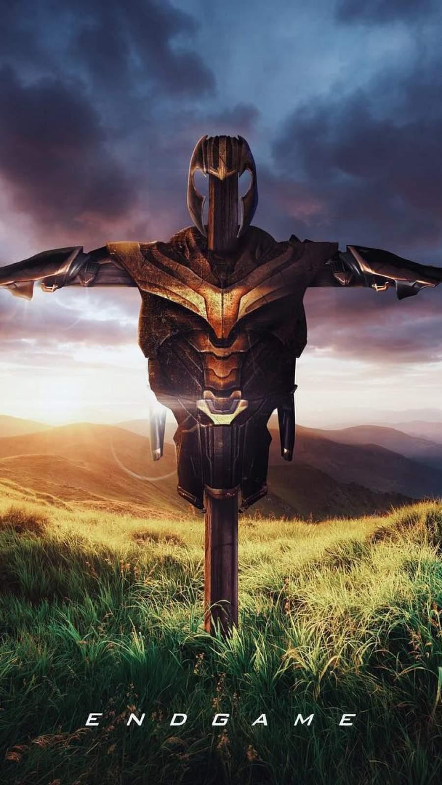 Thanos Armor iPhone Wallpaper