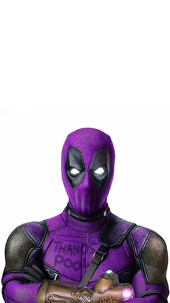 Thanos Deadpool iPhone Wallpaper