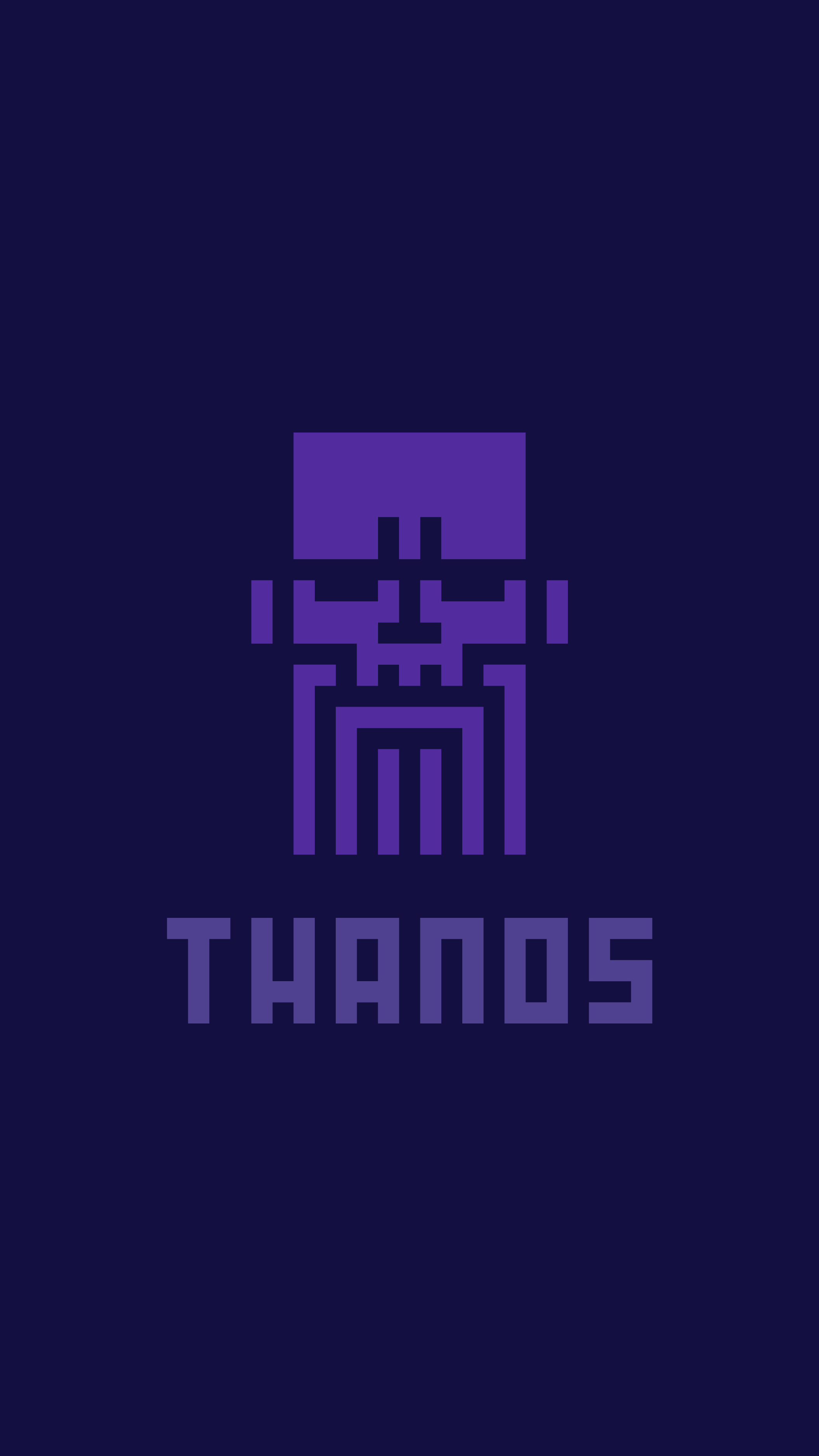 Thanos iPhone Wallpaper