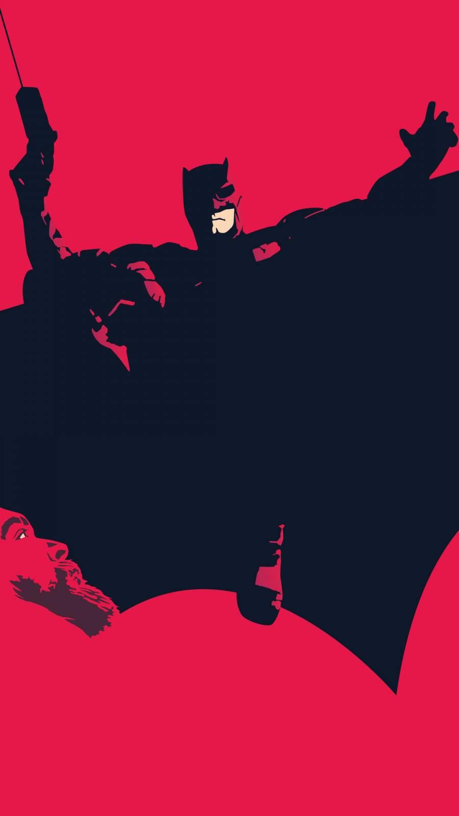 The Batman Wings iPhone Wallpaper