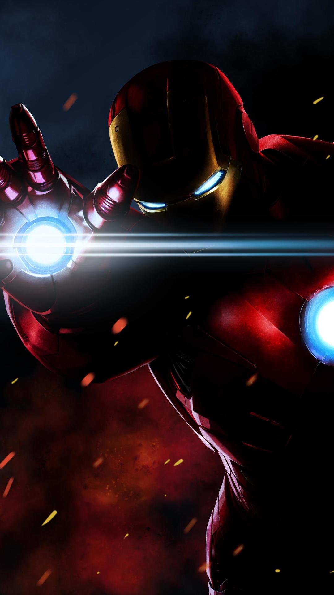 The Ironman iPhone Wallpaper